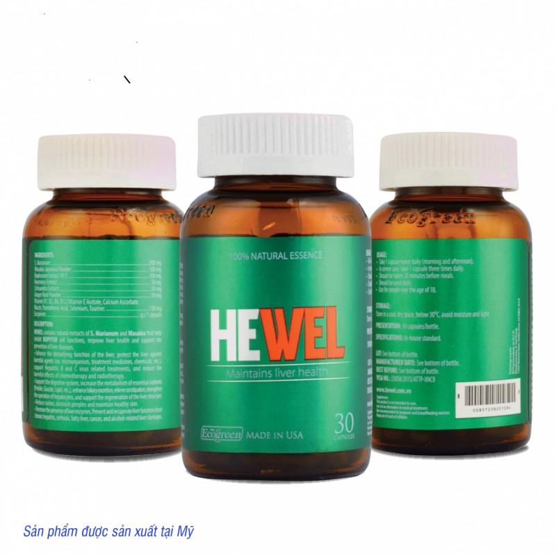 Viên HEWEL Giải độc và bảo vệ gan