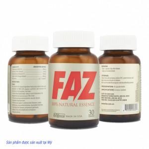 Viên FAZ điều hòa cholesterol, mỡ máu,điều hòa cholesterol
