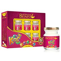 Hộp Yến sào Bionest Kids cao cấp - Quà tặng cho bé biếng ăn 6 lọ