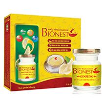Hộp Yến sào Bionest Ginseng hồng sâm cao cấp - hộp tiết kiệm 6 lọ